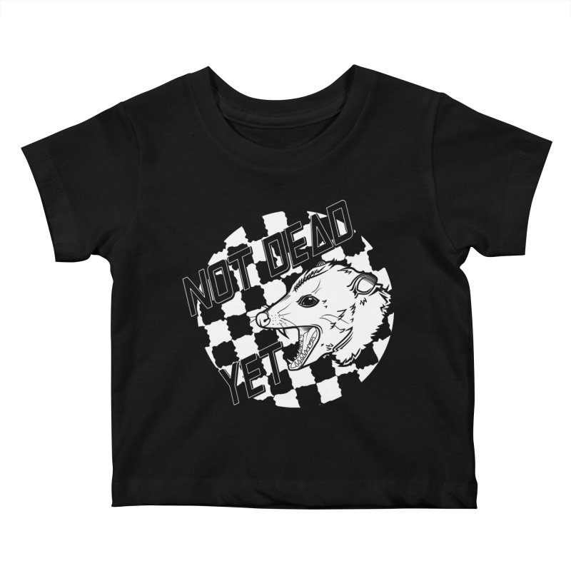Snarls Barkley Monochrome Logo Kids Baby T-Shirt by Not Dead Yet Merch