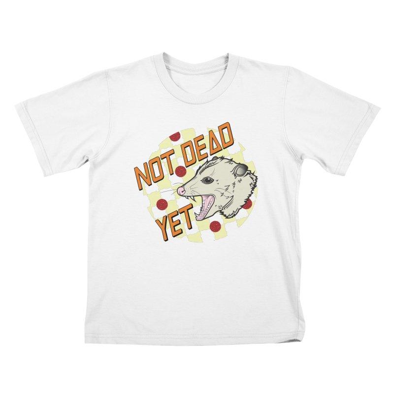 Snarls Barkley Round Logo Kids T-Shirt by Not Dead Yet Merch