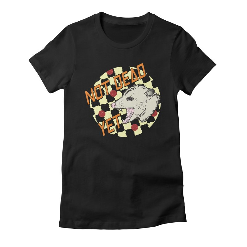 Snarls Barkley Round Logo Women's Fitted T-Shirt by Not Dead Yet Merch