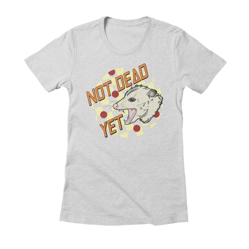 Snarls Barkley Round Logo Women's Fitted T-Shirt by Not Dead Yet Merch