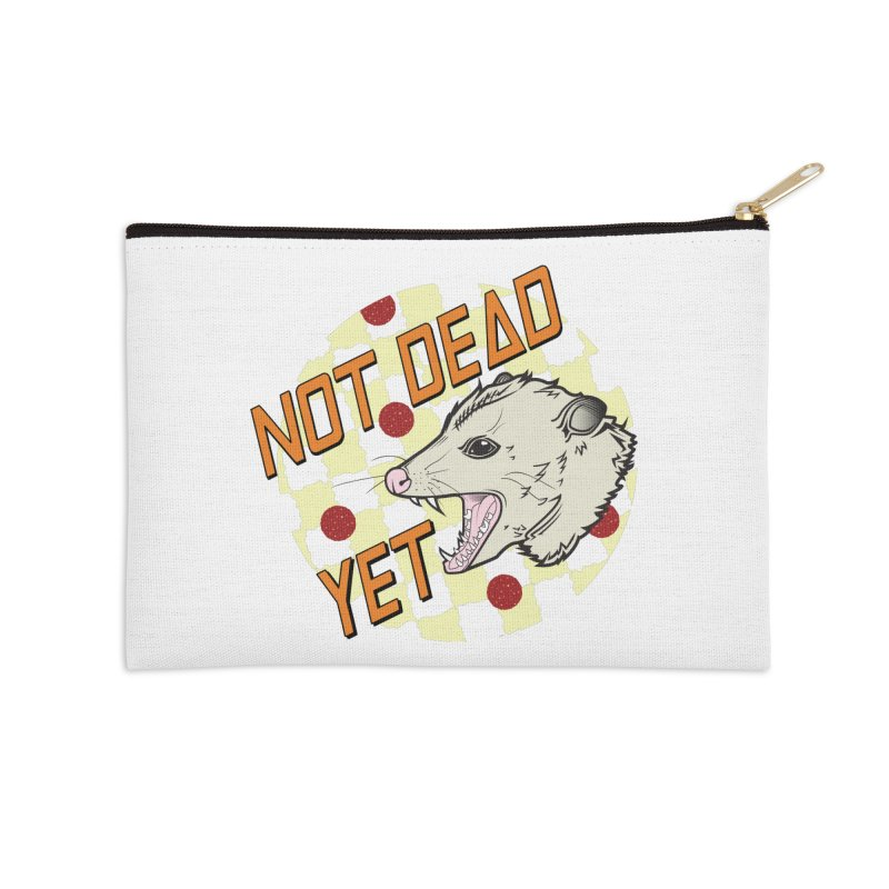 Snarls Barkley Round Logo Accessories Zip Pouch by Not Dead Yet Merch