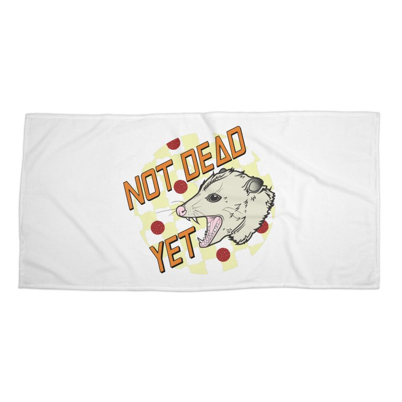 Snarls Barkley Round Logo Accessories Beach Towel by Not Dead Yet Merch
