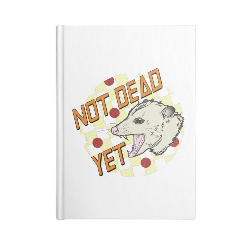 Snarls Barkley Round Logo Accessories Lined Journal Notebook by Not Dead Yet Merch
