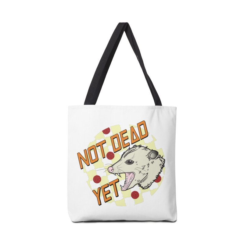 Snarls Barkley Round Logo Accessories Tote Bag Bag by Not Dead Yet Merch