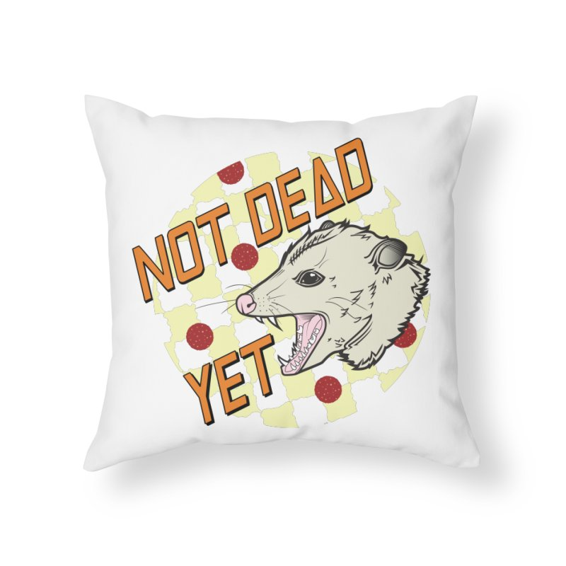 Snarls Barkley Round Logo Home Throw Pillow by Not Dead Yet Merch