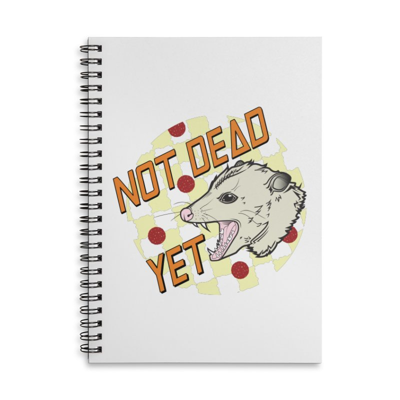 Snarls Barkley Round Logo Accessories Lined Spiral Notebook by Not Dead Yet Merch