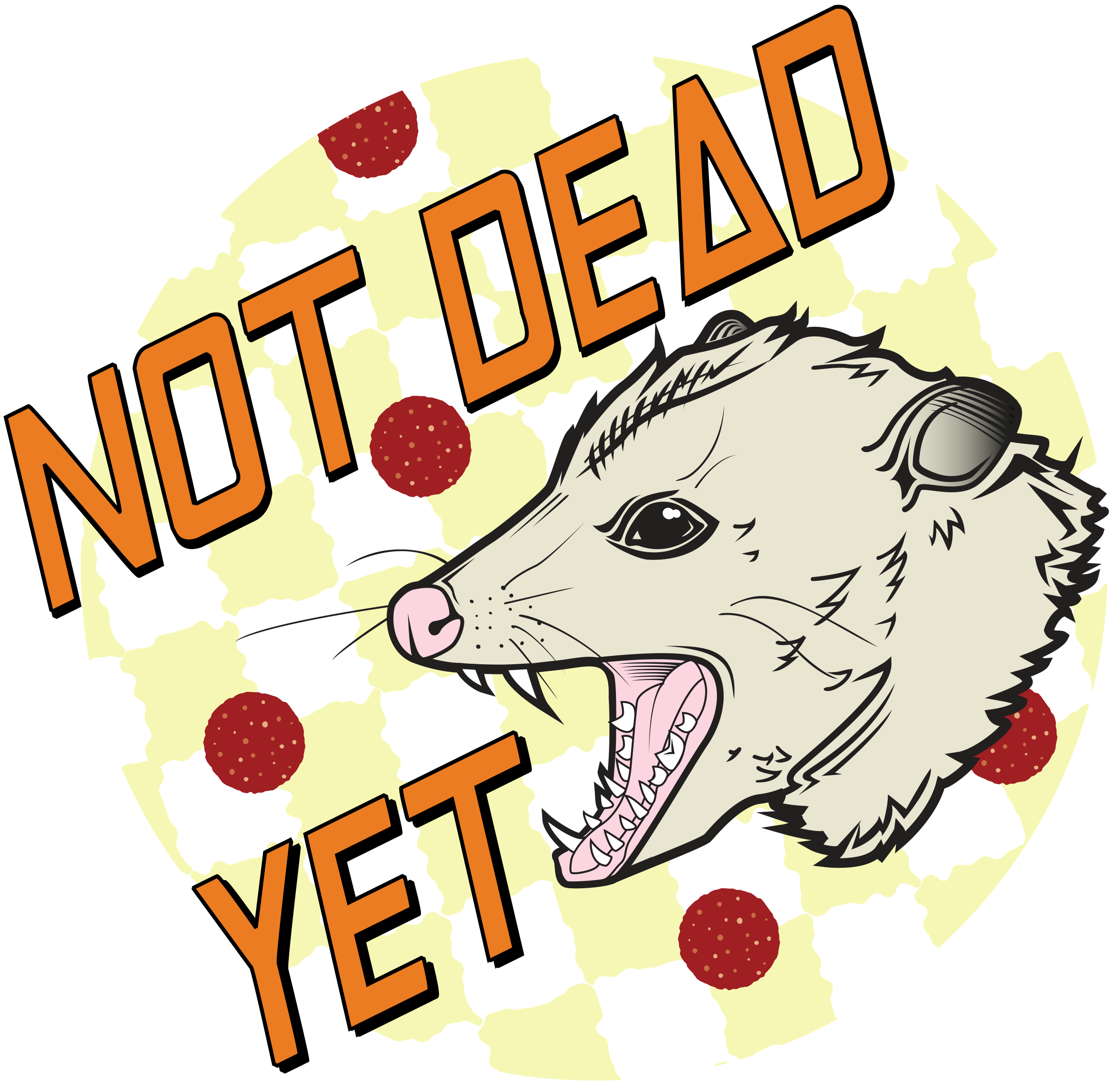 Not Dead Yet Merch Logo