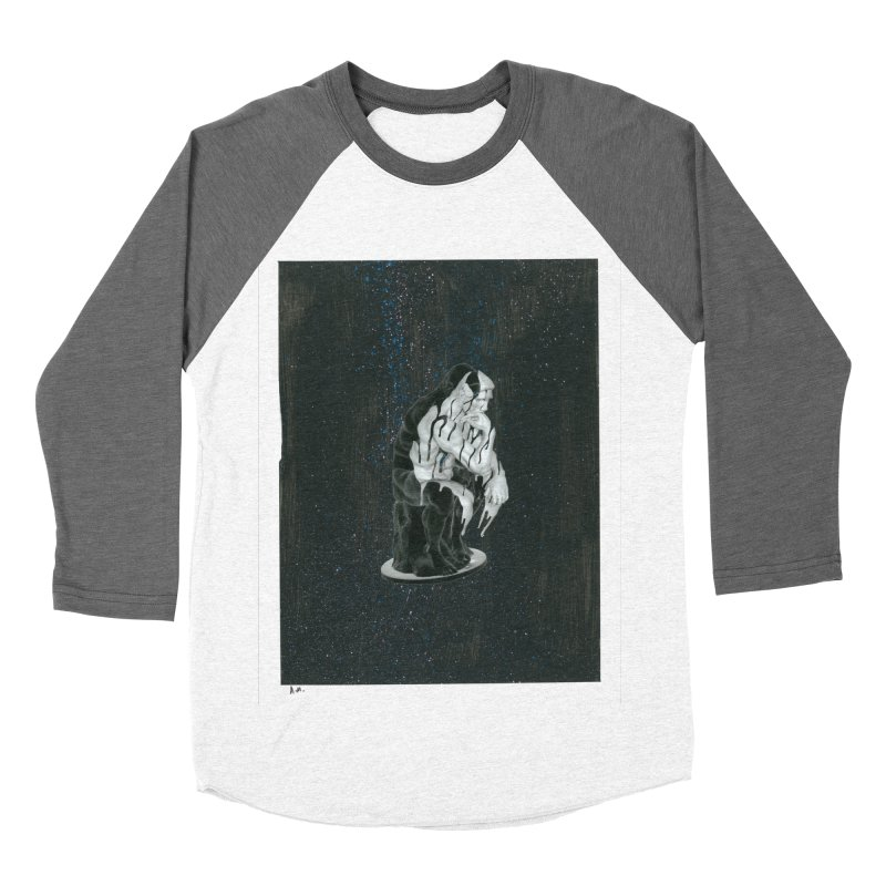 The Philosopher Women's Baseball Triblend Longsleeve T-Shirt by notes and pictures's Artist Shop