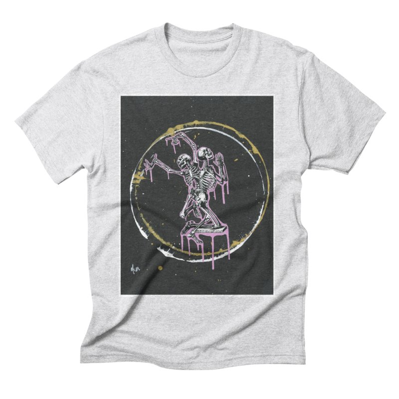 Dance till it's time to pray again Men's Triblend T-Shirt by notes and pictures's Artist Shop