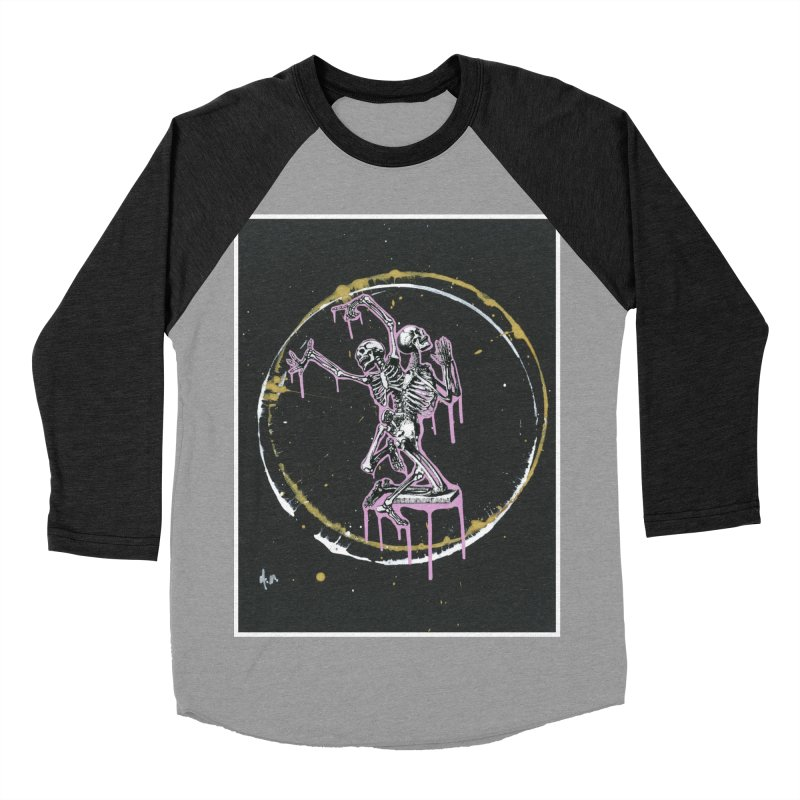 Dance till it's time to pray again Women's Baseball Triblend Longsleeve T-Shirt by notes and pictures's Artist Shop