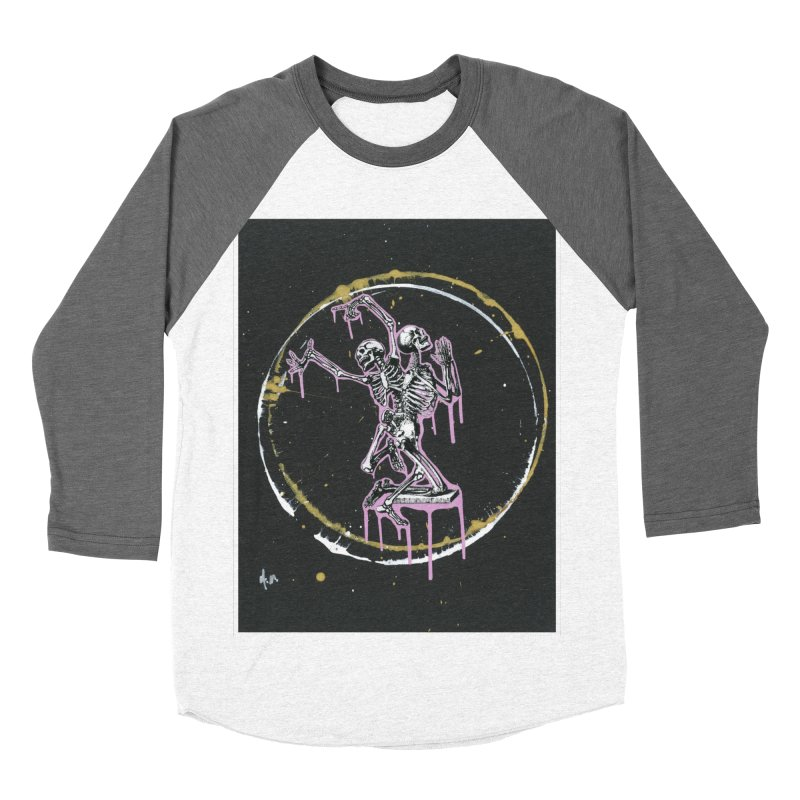 Dance till it's time to pray again Men's Baseball Triblend Longsleeve T-Shirt by notes and pictures's Artist Shop