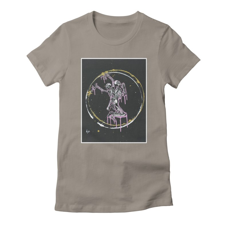 Dance till it's time to pray again Women's T-Shirt by notes and pictures's Artist Shop
