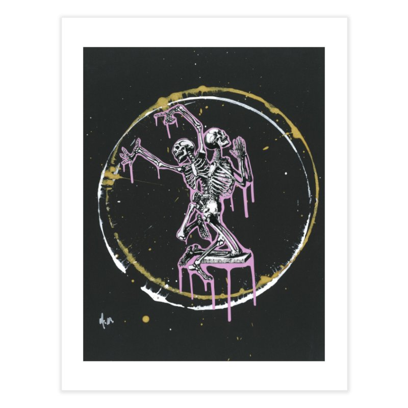 Dance till it's time to pray again Home Fine Art Print by notes and pictures's Artist Shop
