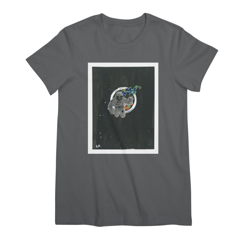 Re-entering Orbit Women's Premium T-Shirt by notes and pictures's Artist Shop