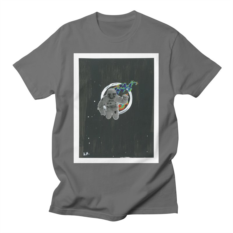 Re-entering Orbit Men's T-Shirt by notes and pictures's Artist Shop