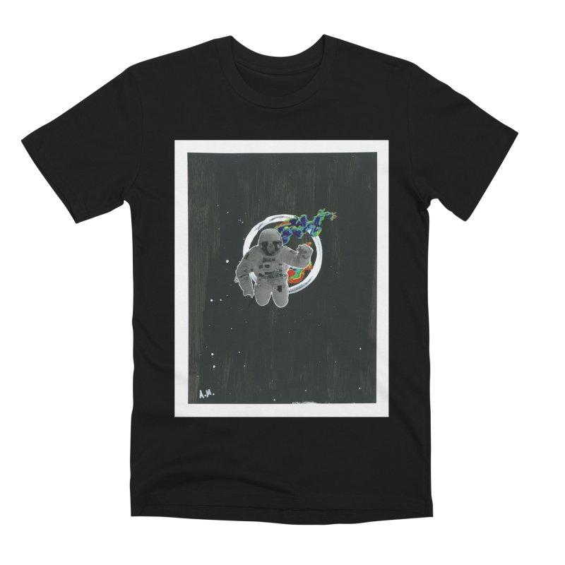 Re-entering Orbit Men's Premium T-Shirt by notes and pictures's Artist Shop