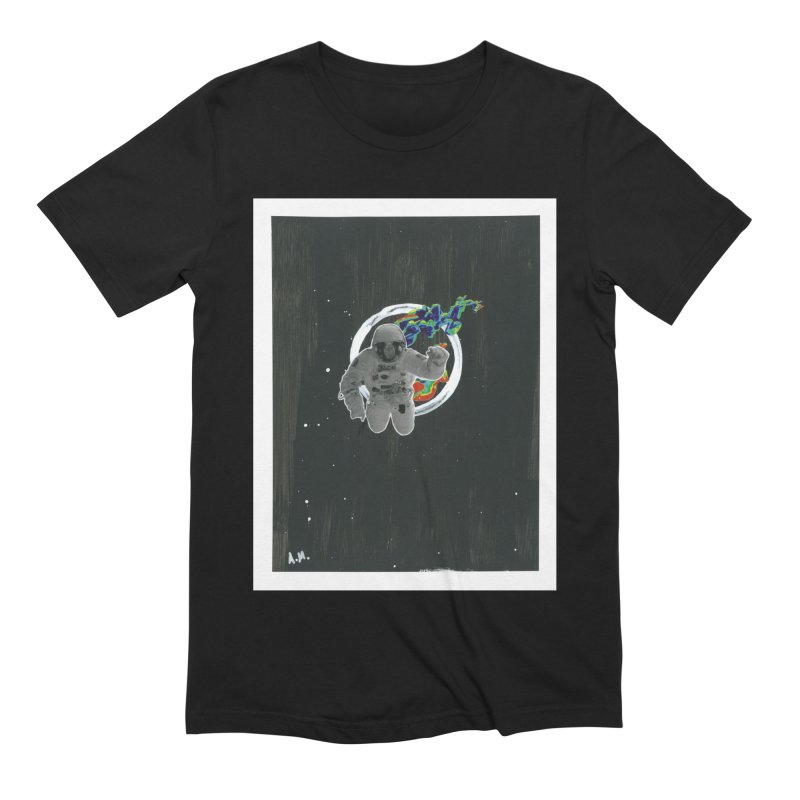 Re-entering Orbit Men's Extra Soft T-Shirt by notes and pictures's Artist Shop