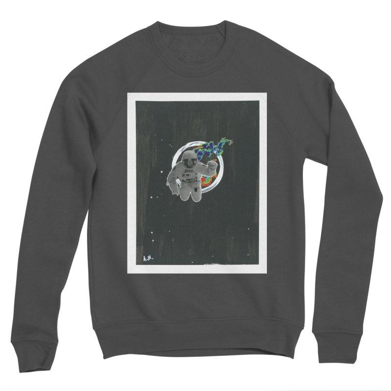 Re-entering Orbit Men's Sponge Fleece Sweatshirt by notes and pictures's Artist Shop