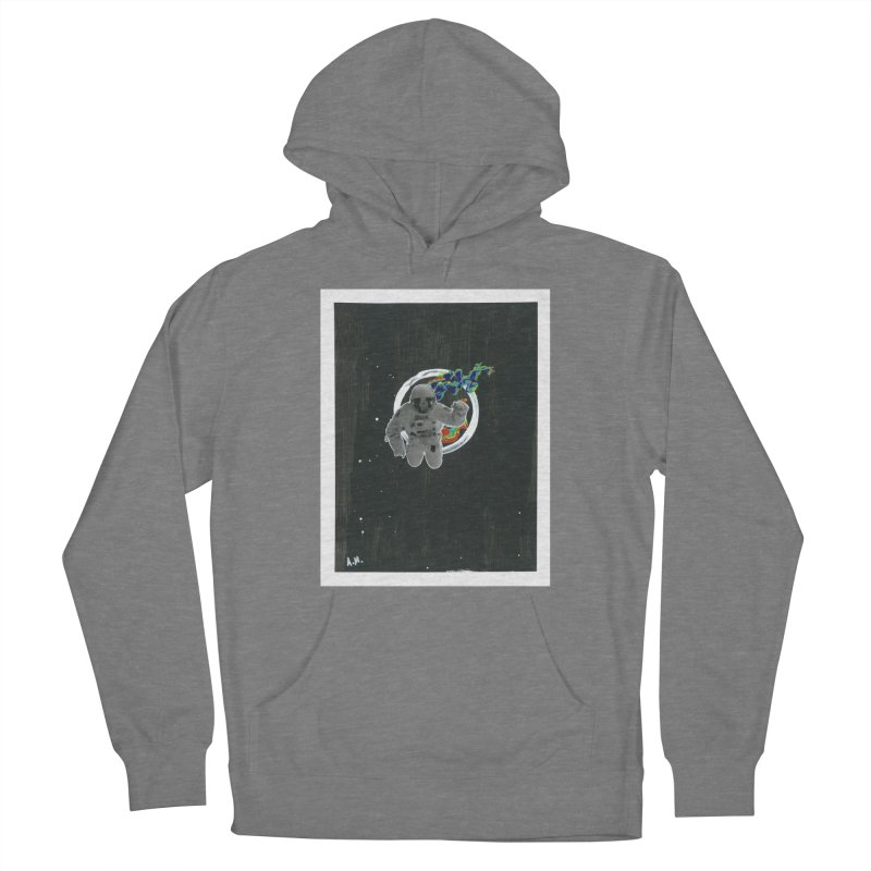 Re-entering Orbit Women's Pullover Hoody by notes and pictures's Artist Shop