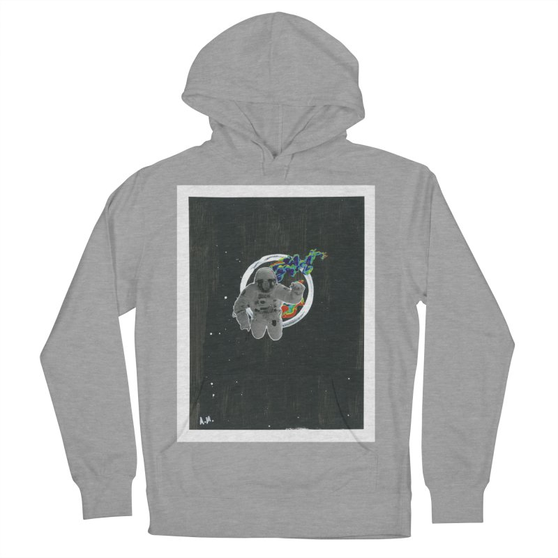 Re-entering Orbit Women's French Terry Pullover Hoody by notes and pictures's Artist Shop