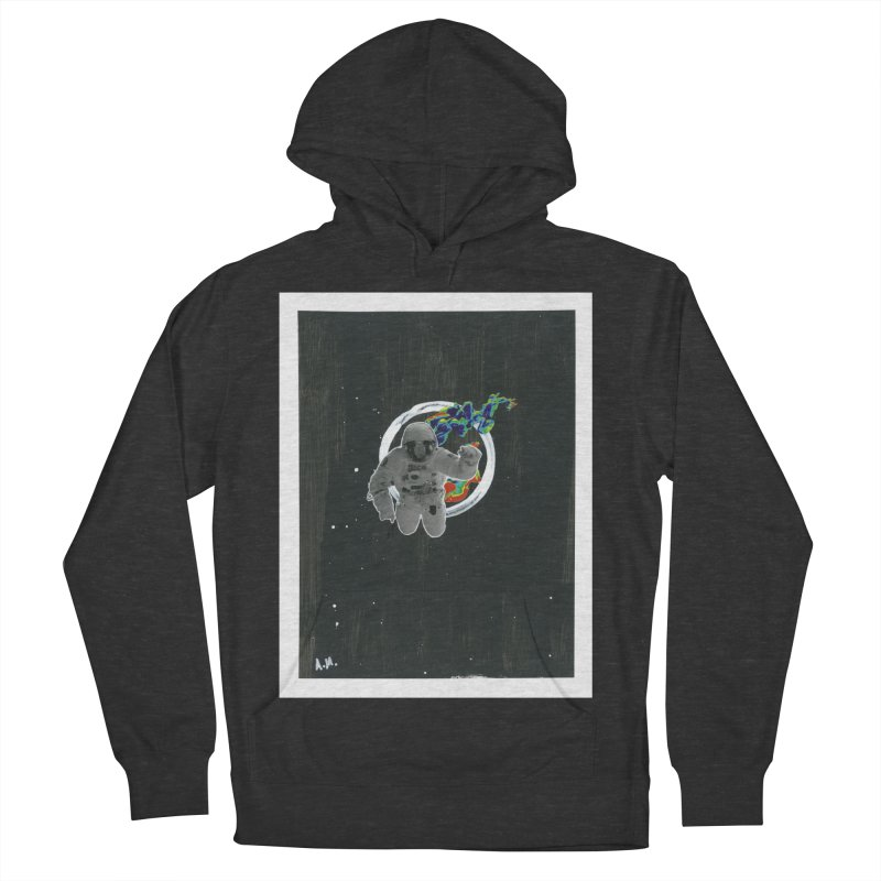 Re-entering Orbit Men's French Terry Pullover Hoody by notes and pictures's Artist Shop