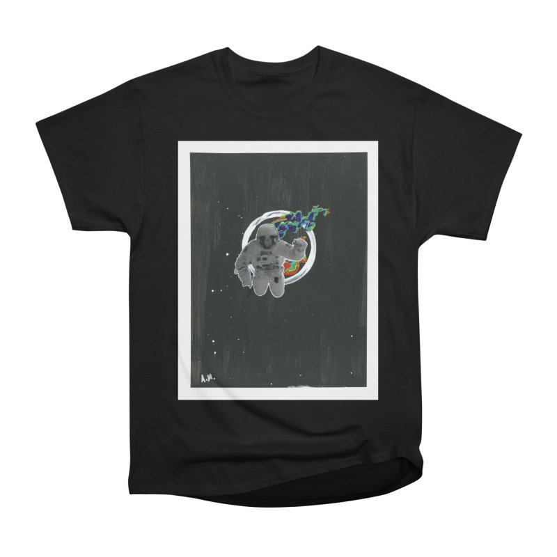 Re-entering Orbit Men's Heavyweight T-Shirt by notes and pictures's Artist Shop
