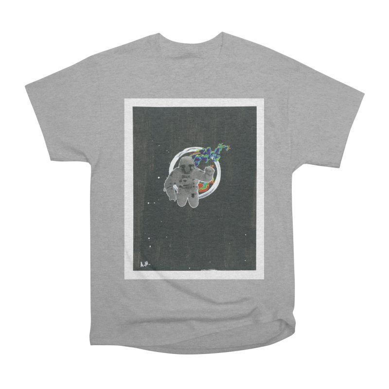 Re-entering Orbit Women's Heavyweight Unisex T-Shirt by notes and pictures's Artist Shop