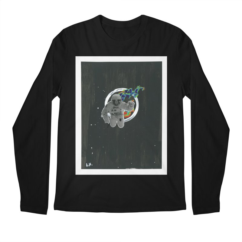 Re-entering Orbit Men's Regular Longsleeve T-Shirt by notes and pictures's Artist Shop