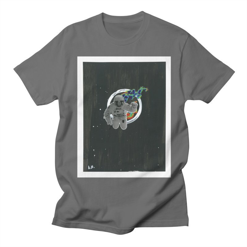 Re-entering Orbit Men's Regular T-Shirt by notes and pictures's Artist Shop