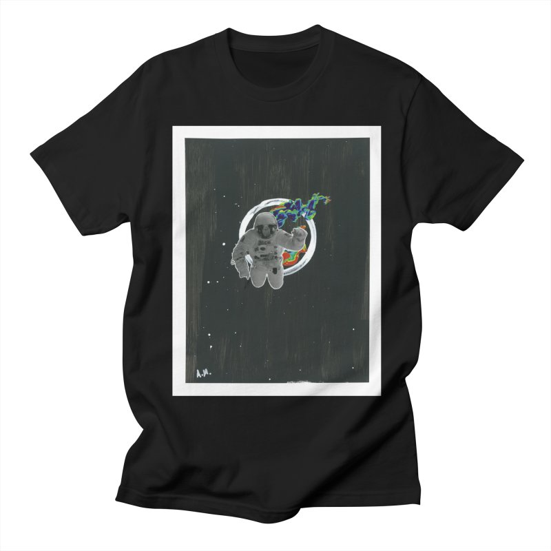 Re-entering Orbit Women's Regular Unisex T-Shirt by notes and pictures's Artist Shop