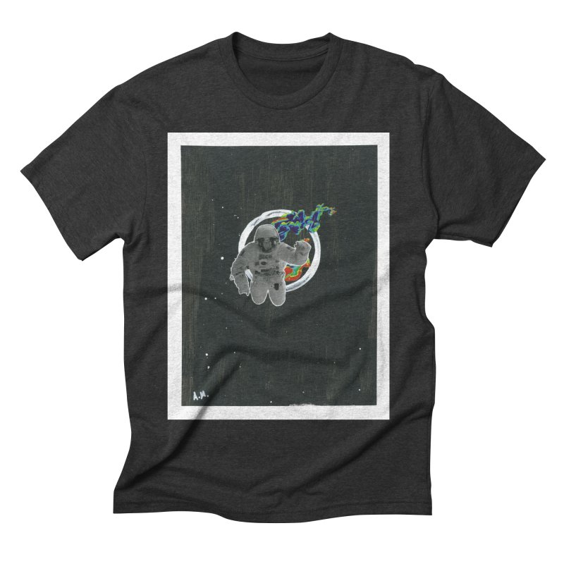 Re-entering Orbit Men's Triblend T-Shirt by notes and pictures's Artist Shop