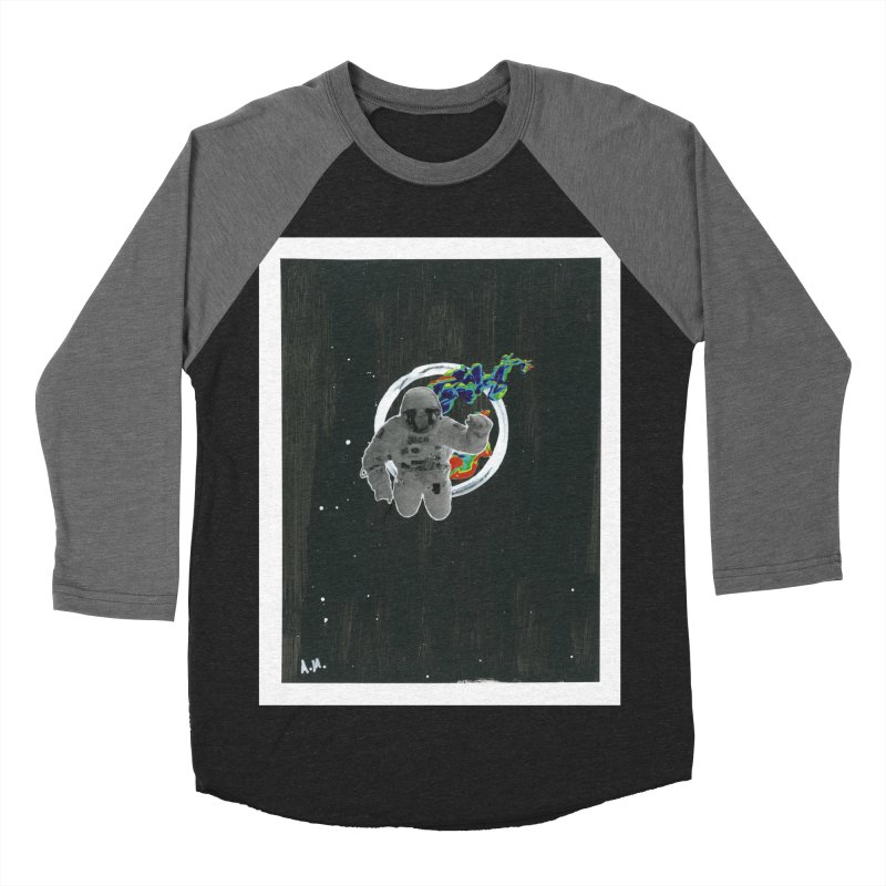 Re-entering Orbit Women's Baseball Triblend Longsleeve T-Shirt by notes and pictures's Artist Shop