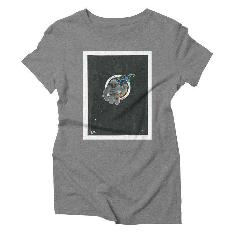 Re-entering Orbit Women's Triblend T-Shirt by notes and pictures's Artist Shop