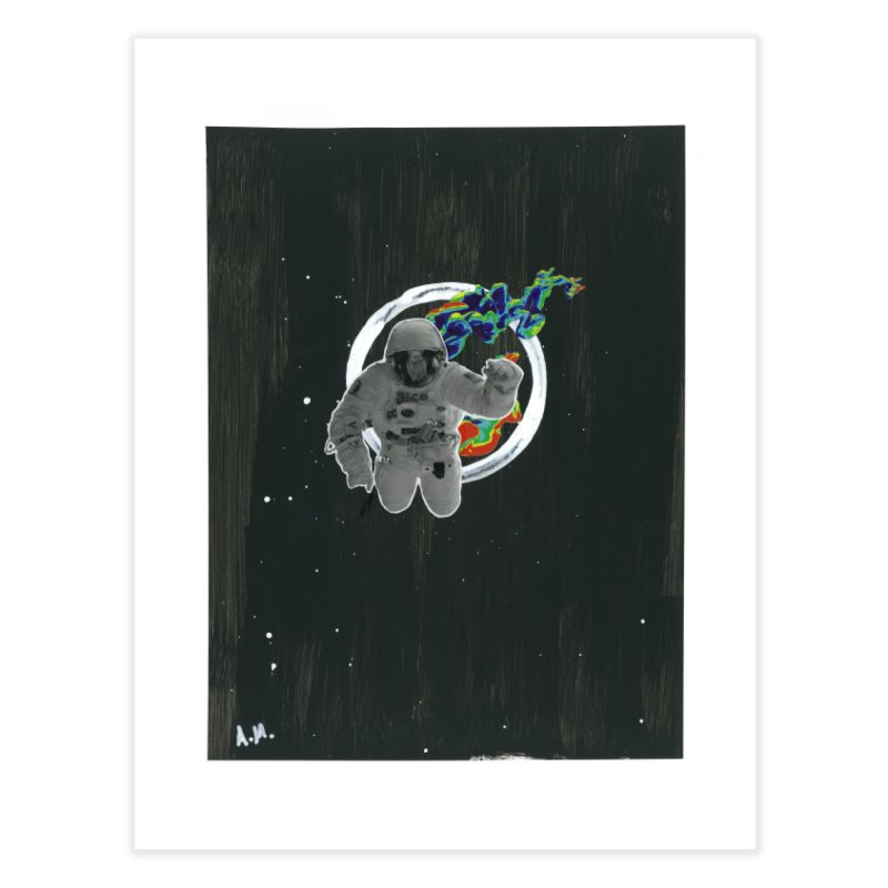 Re-entering Orbit Home Fine Art Print by notes and pictures's Artist Shop
