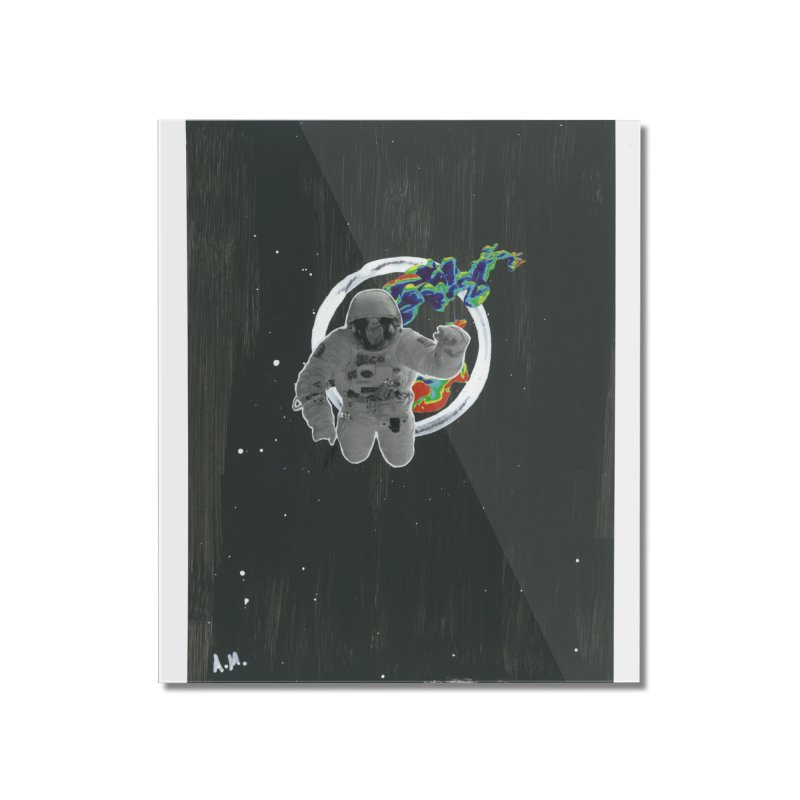 Re-entering Orbit Home Mounted Acrylic Print by notes and pictures's Artist Shop