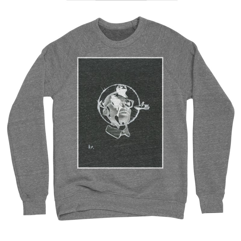 Get out of your head Men's Sponge Fleece Sweatshirt by notes and pictures's Artist Shop