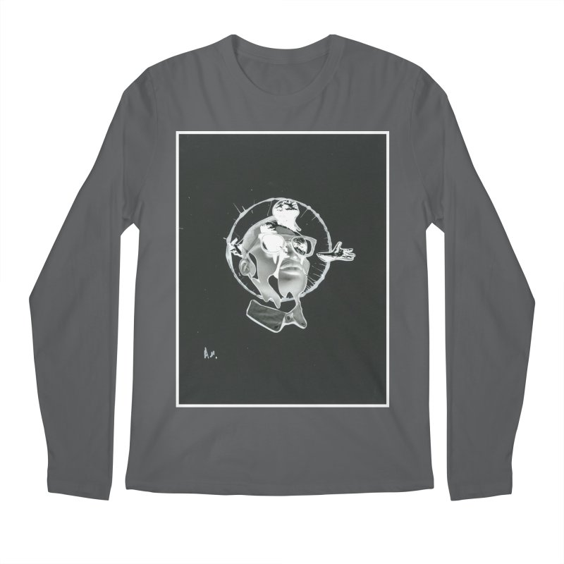 Get out of your head Men's Regular Longsleeve T-Shirt by notes and pictures's Artist Shop