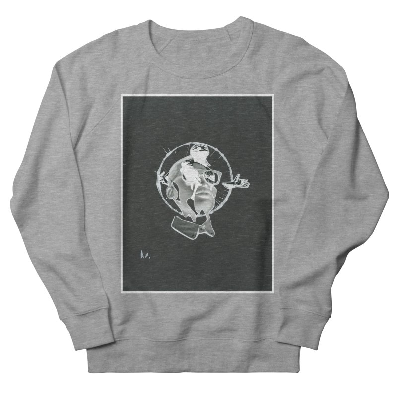 Get out of your head Women's French Terry Sweatshirt by notes and pictures's Artist Shop