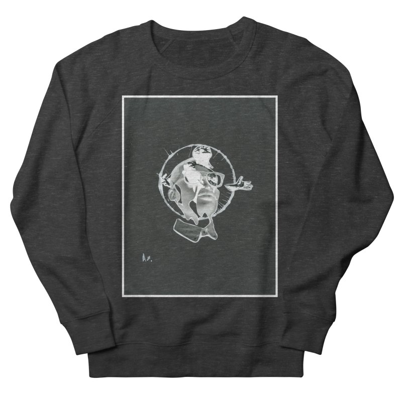Get out of your head Men's French Terry Sweatshirt by notes and pictures's Artist Shop