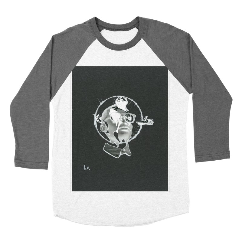 Get out of your head Women's Baseball Triblend Longsleeve T-Shirt by notes and pictures's Artist Shop