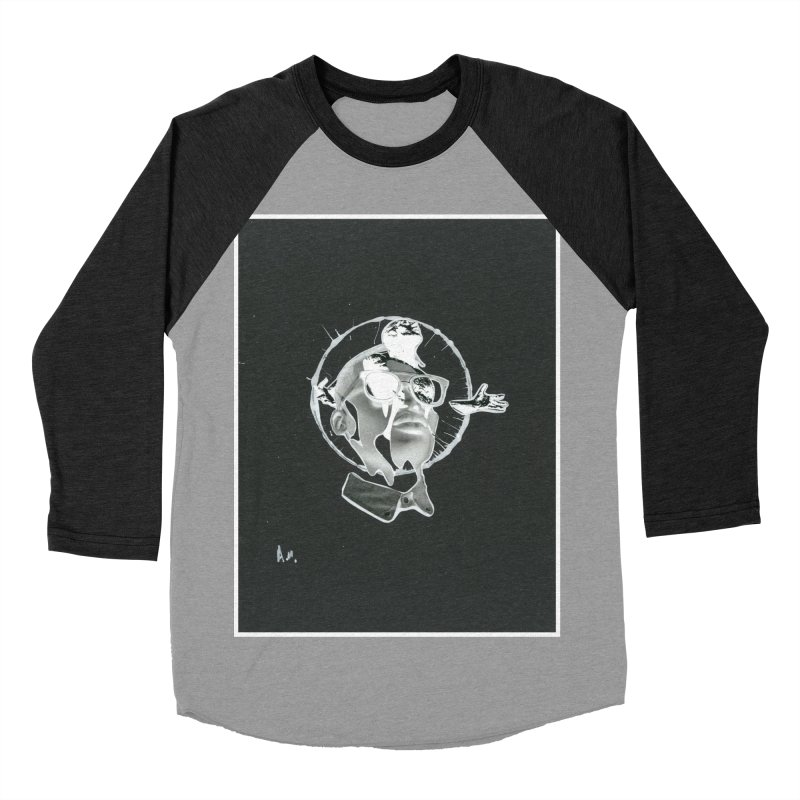 Get out of your head Men's Baseball Triblend Longsleeve T-Shirt by notes and pictures's Artist Shop