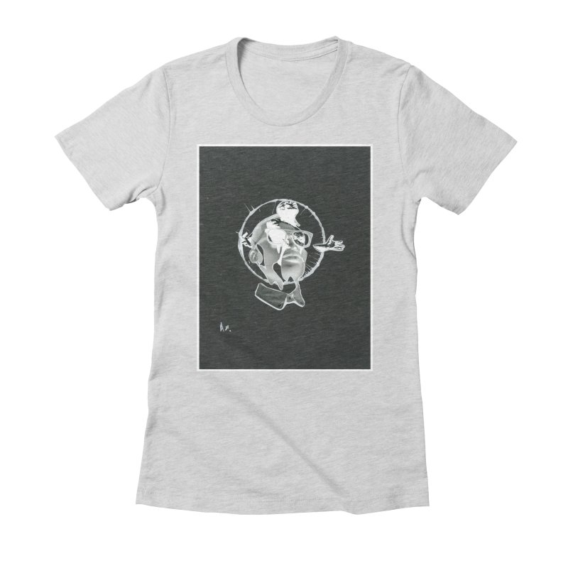 Get out of your head Women's Fitted T-Shirt by notes and pictures's Artist Shop