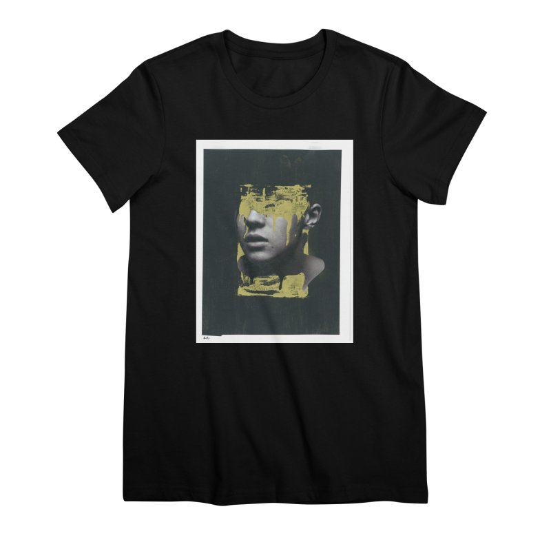Gold Women's Premium T-Shirt by notes and pictures's Artist Shop