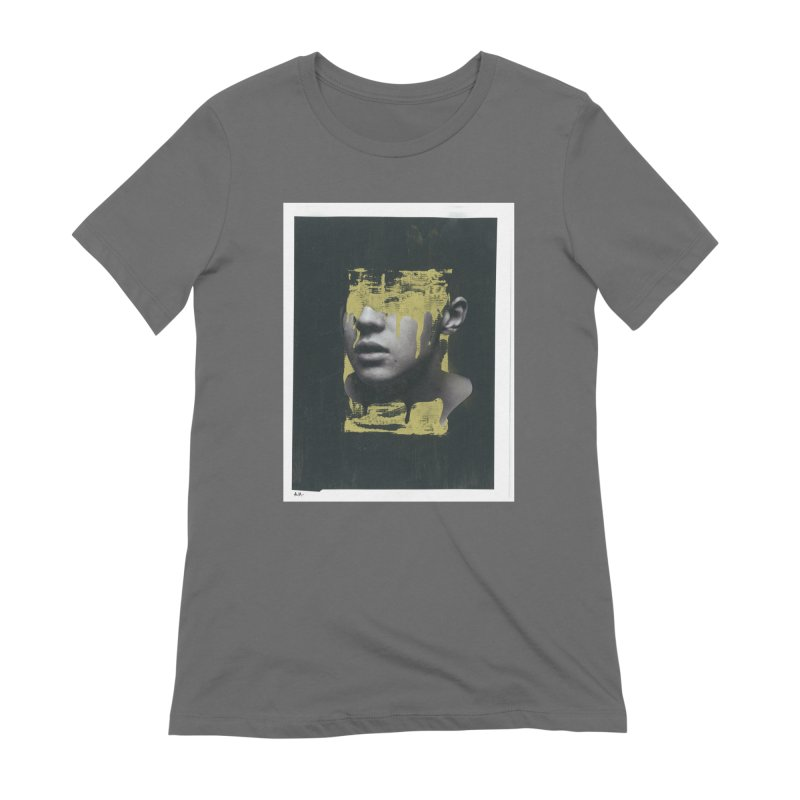 Gold Women's Extra Soft T-Shirt by notes and pictures's Artist Shop