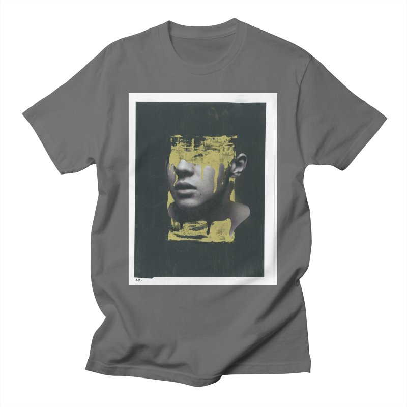 Gold Men's T-Shirt by notes and pictures's Artist Shop