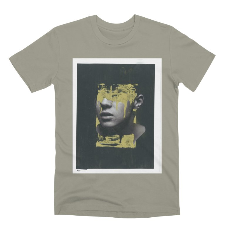 Gold Men's Premium T-Shirt by notes and pictures's Artist Shop