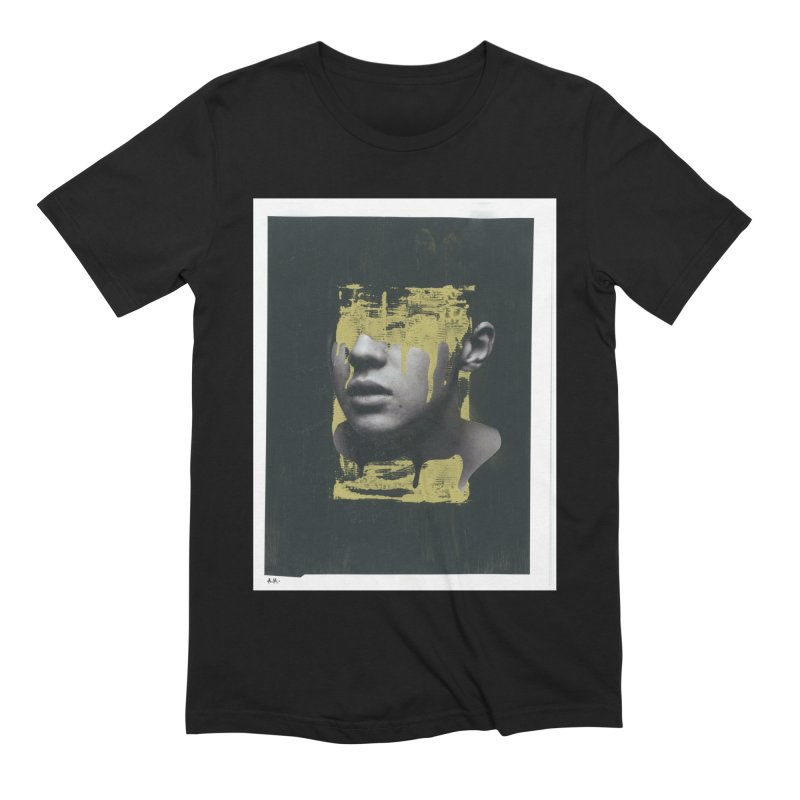 Gold Men's Extra Soft T-Shirt by notes and pictures's Artist Shop