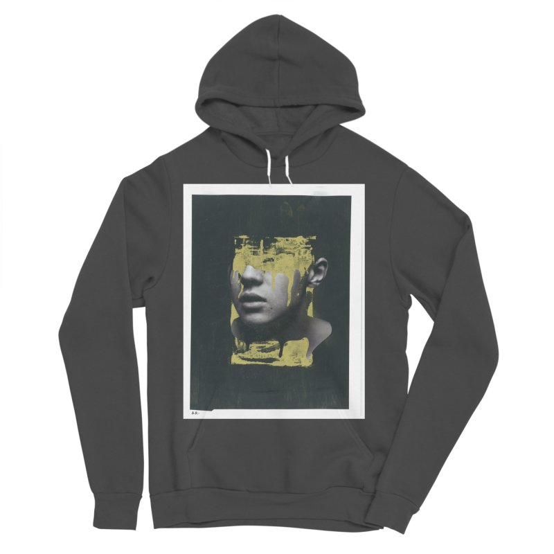 Gold Women's Sponge Fleece Pullover Hoody by notes and pictures's Artist Shop