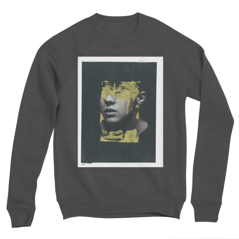 Gold Men's Sweatshirt by notes and pictures's Artist Shop