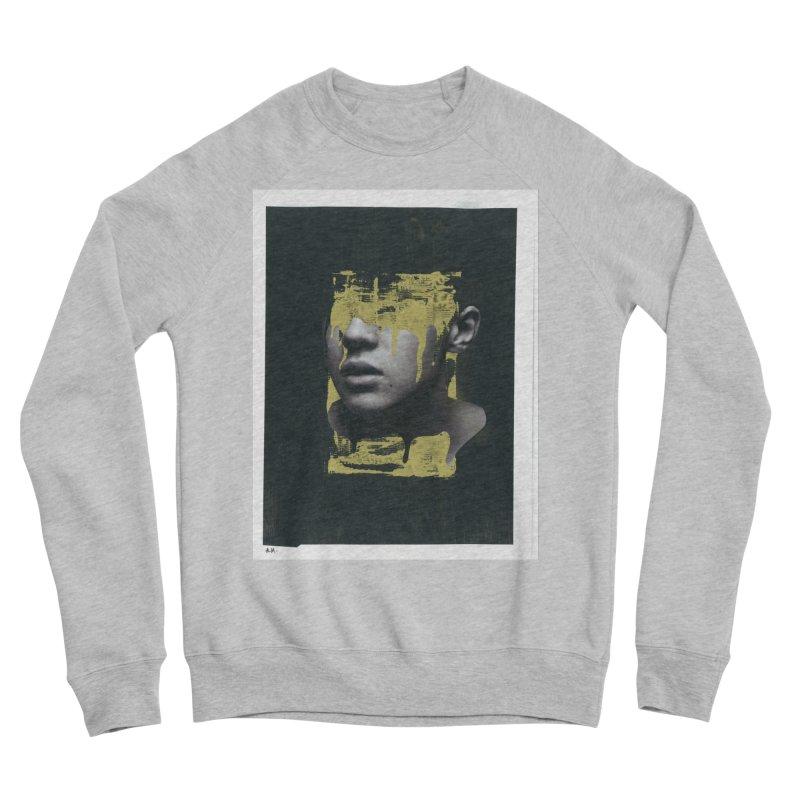 Gold Women's Sponge Fleece Sweatshirt by notes and pictures's Artist Shop